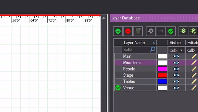 5 – Defining a Venue, Managing Layers and Library Items