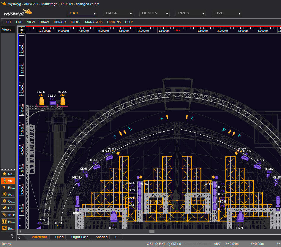 Wysiwyg Lighting Design Cast Software